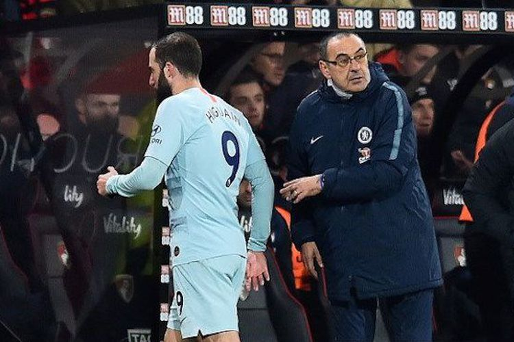 Sarri Said Chelsea Could Have Win Even Without A Coach